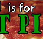 J is for Just Pizza A to Z Challenge