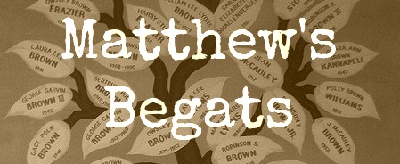 Andrew Peterson - Matthew's Begats from Behold the Lamb of God