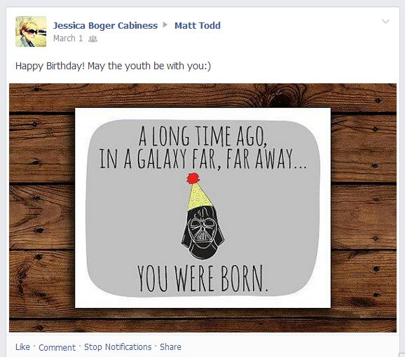 This Darth Vader birthday card isn't funny. But it is funny.
