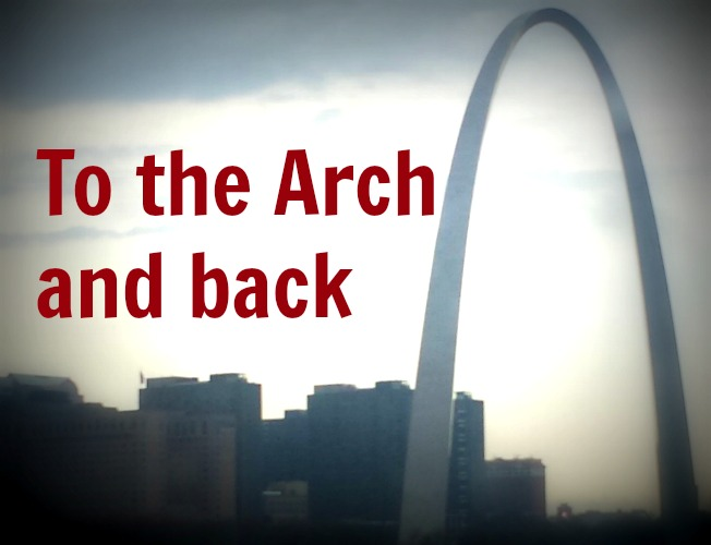 St Louis - To the Arch and back