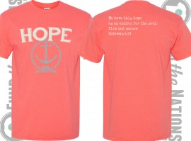 We have this hope as an anchor t-shirt Hebrews 6:19