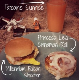 Epic Star Wars Breakfast